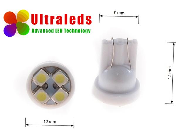 Żarówka LED T10 W5W 4 SMD 5050 - 3 Chip Epistar